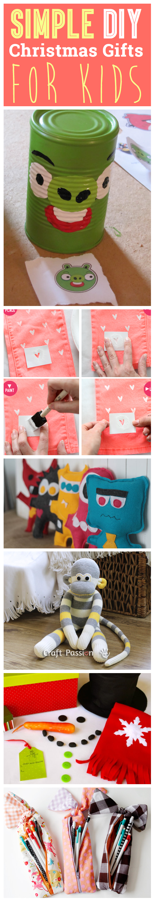 7 Simple DIY Christmas Gifts For Kids – Cute DIY Projects