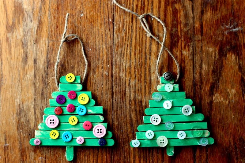 Easy and cute diy christmas crafts for kids cute diy projects 6 a colorful popsicle stick tree solutioingenieria Gallery