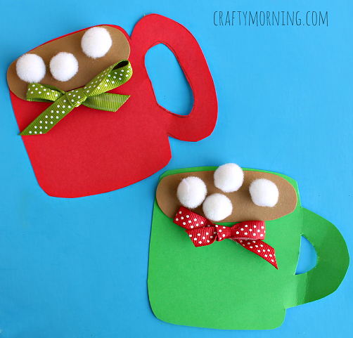A Crafty Hot Cocoa Mug