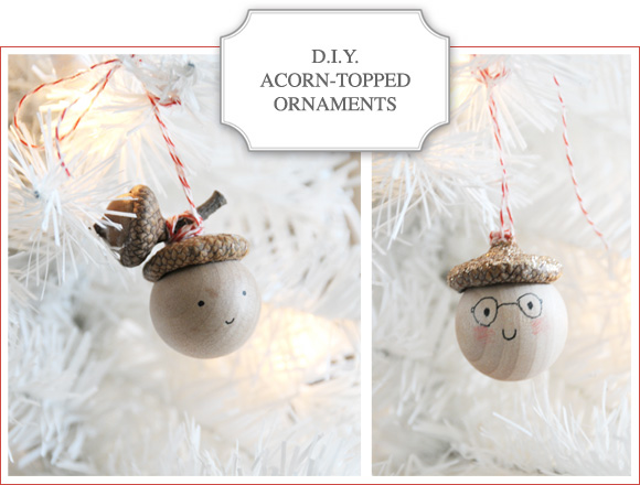 Acorn Topped Ornaments