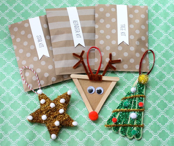50 wonderful and simple diy christmas tree decorations for Home made christmas tree decorations