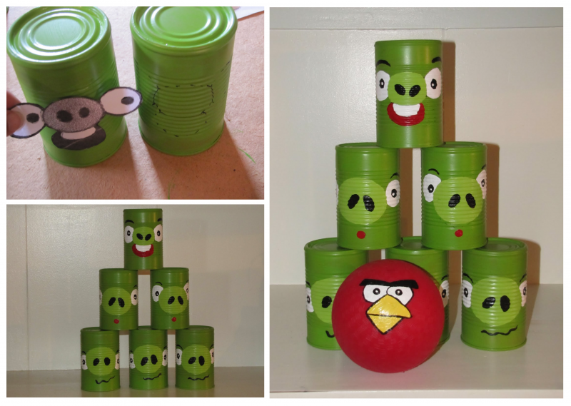 30 simple diy christmas gifts for kids cute diy projects diy angry birds game solutioingenieria Choice Image