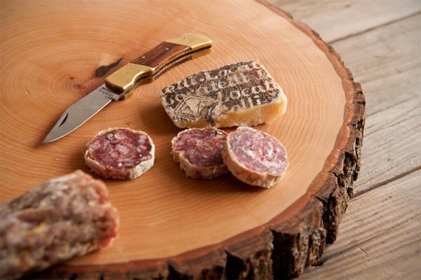 DIY Wood Slice Serving Board