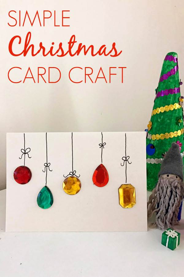 25 unique homemade christmas cards that you can make yourself this easy diy christmas card solutioingenieria Images