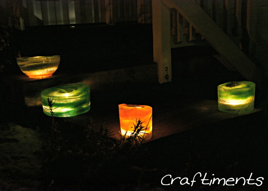 How to Make Ice Lanterns. Light up your Christmas ...