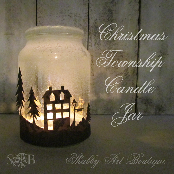It's No Secret Women Love Candles : Christmas Township Candle holders