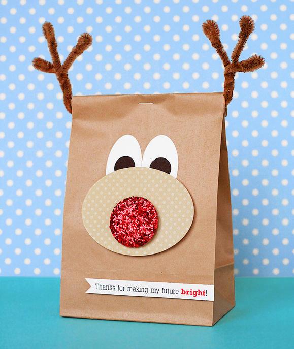 Reindeer Gift Bag
