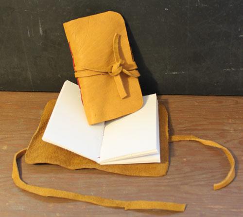 Rustic Leather Sketchbook
