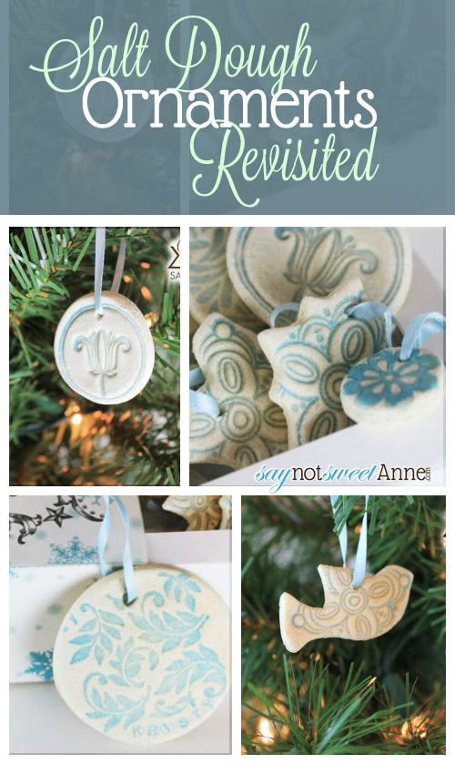 Salt Dough Ornaments Revisited