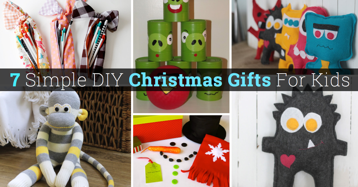 30 Simple DIY Christmas Gifts For Kids – Cute DIY Projects