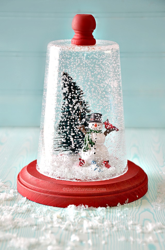 Snow Globe Christmas Gift Idea