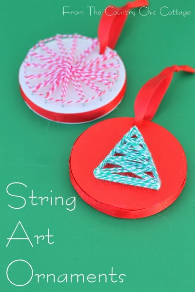 String Art Ornaments
