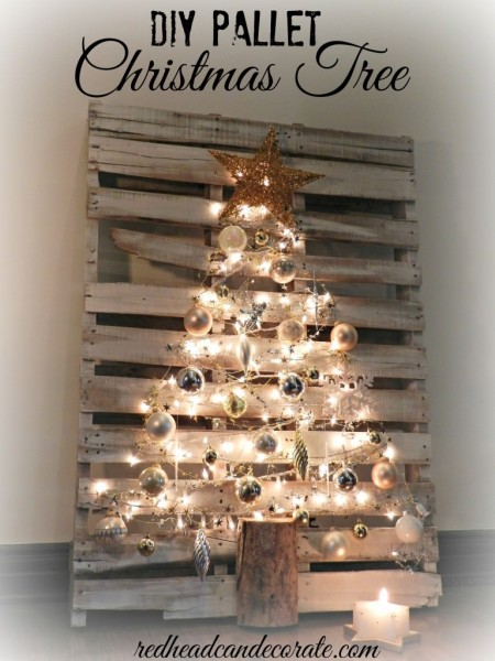 Stylish  Pallet Christmas Tree