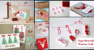 Unique Homemade Christmas Cards