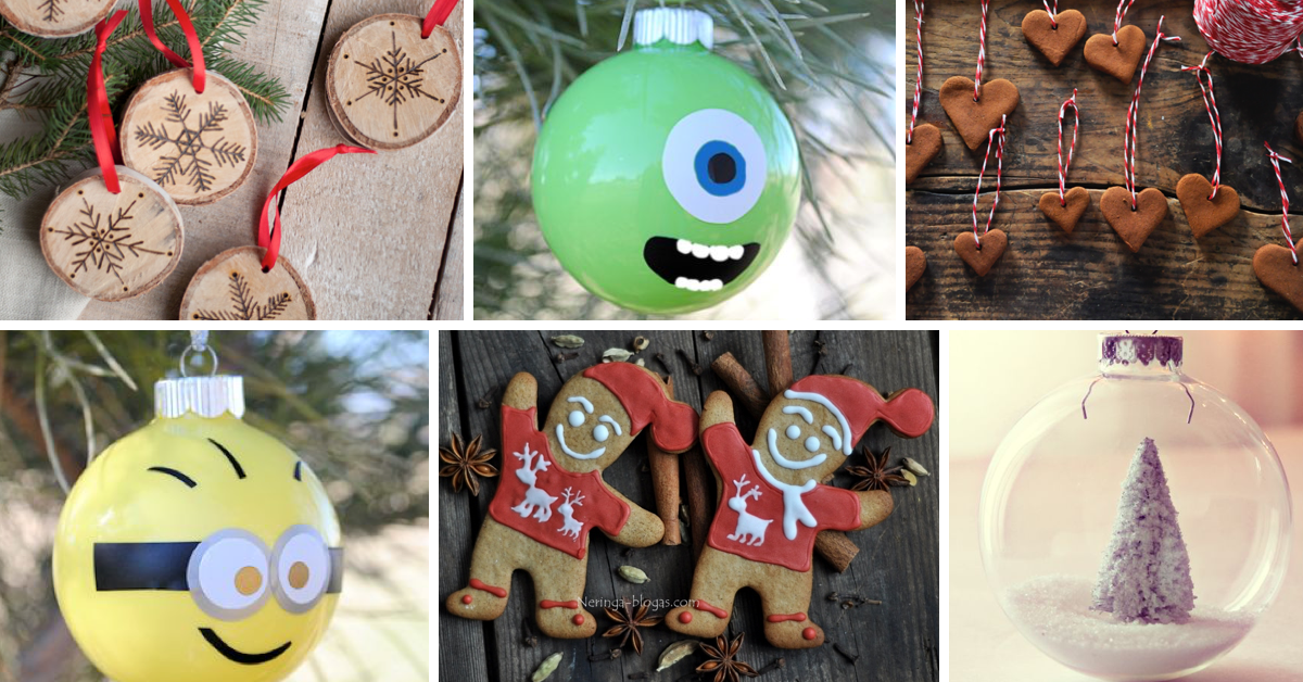 9 ideas for awesome homemade christmas ornaments cute diy projects - Christmas Ornaments Homemade