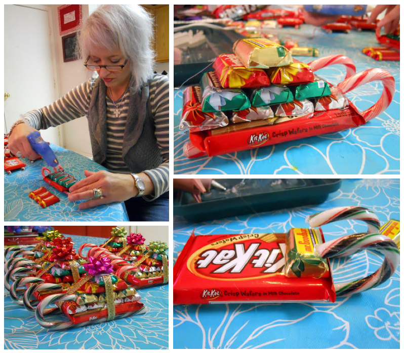 diy christmas projects for the family 1 candy sleighs