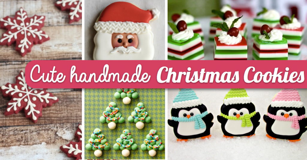 Handmade Christmas Cookies Will Take Your Winter Holidays To The