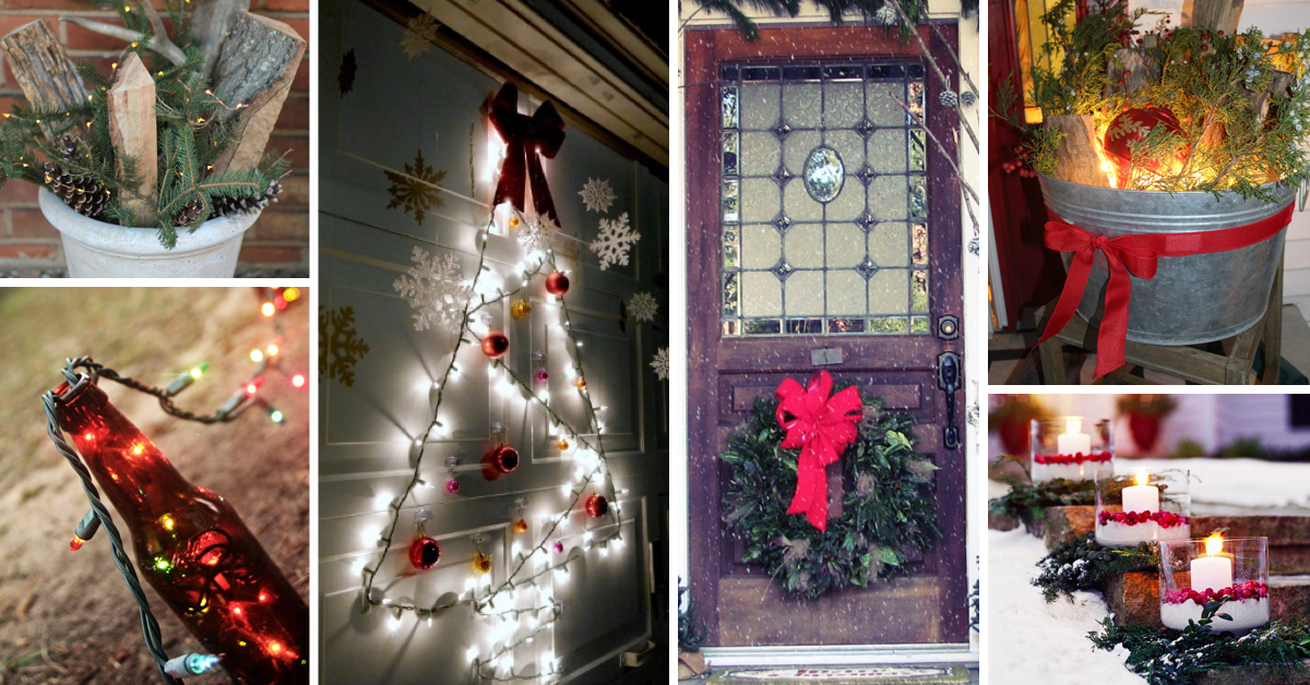 Best Of 19 Photos For Diy Outdoor Christmas Decorations