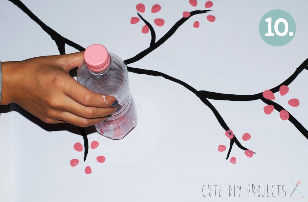 Cherry Blossom Art From Soda Bottle In 11 Easy Steps