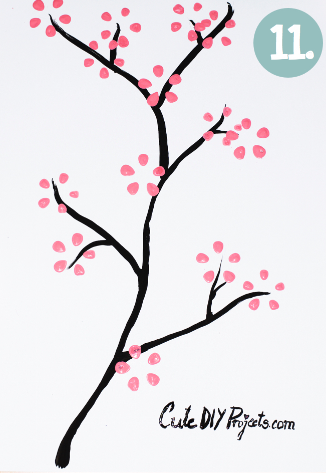 11 Cherry Blossom Art From Soda Bottle