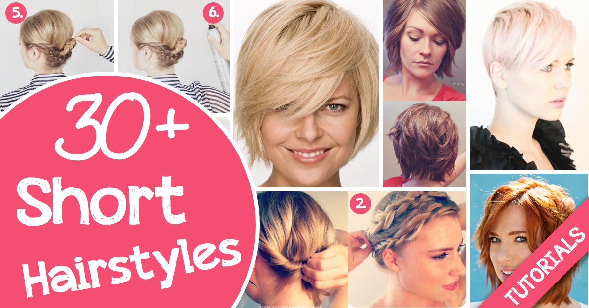 Hairstyles For Short Hair Diy : hairstyle once in a while you can too these gorgeous hairstyles will ...