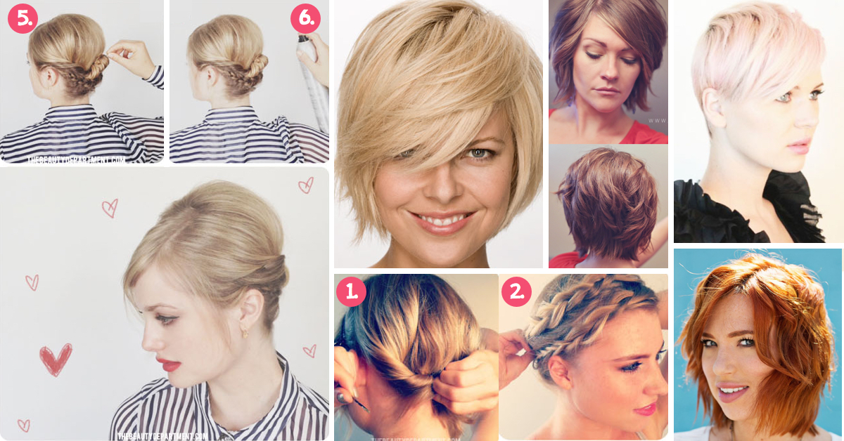 30 Short Hairstyles For That Perfect Look – Page 2 of 2 – Cute DIY Projects