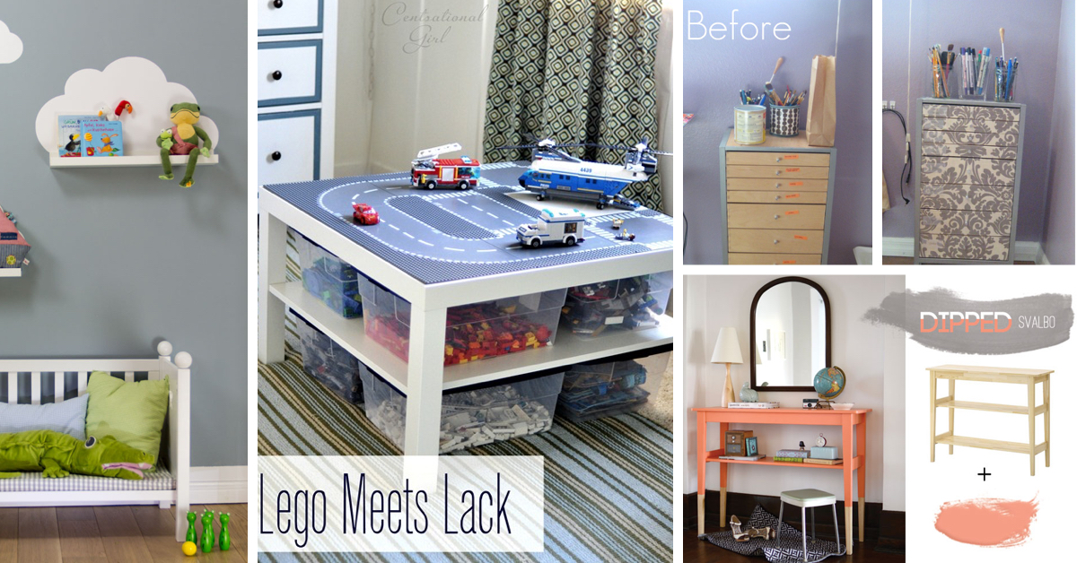 60 Crafty Ikea Hacks To Help You Save Time And Money Cute Diy