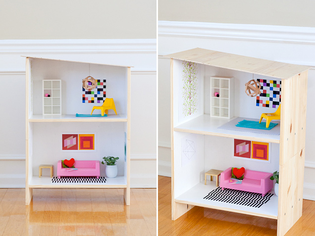 A Fancy Ikea Dollhouse For Your Princess