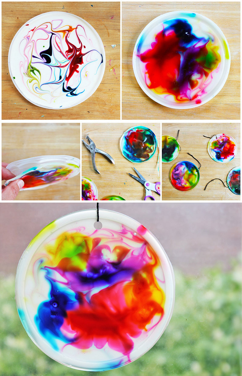 Easy crafts for kids cute diy projects for Easy diy arts and crafts