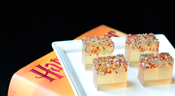 Butterbeer Jell-O Cubes