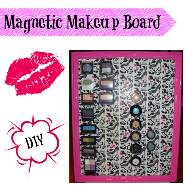 Classy Magnet Makeup Board