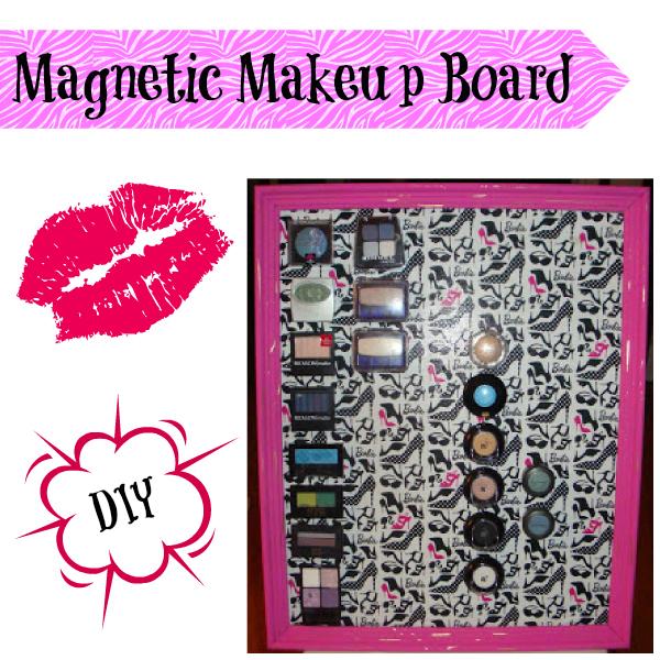Classy Magnet Makeup Board
