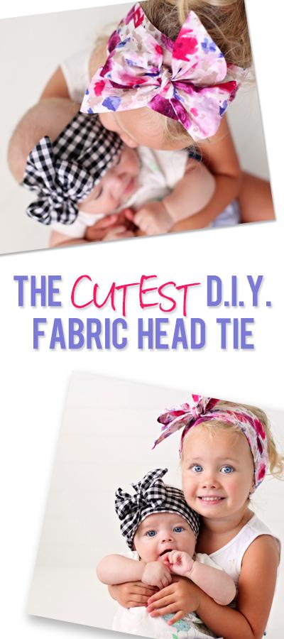 Cute Fabric Head Tie