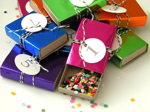 DIY Countdown Confetti Boxes