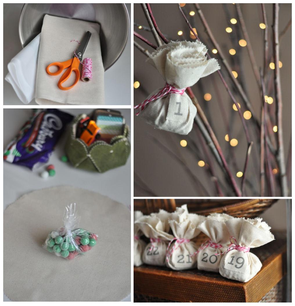 Diy Reusable Advent Calendar Cute Diy Projects