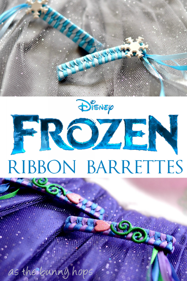 Disney Frozen Ribbon Barrettes