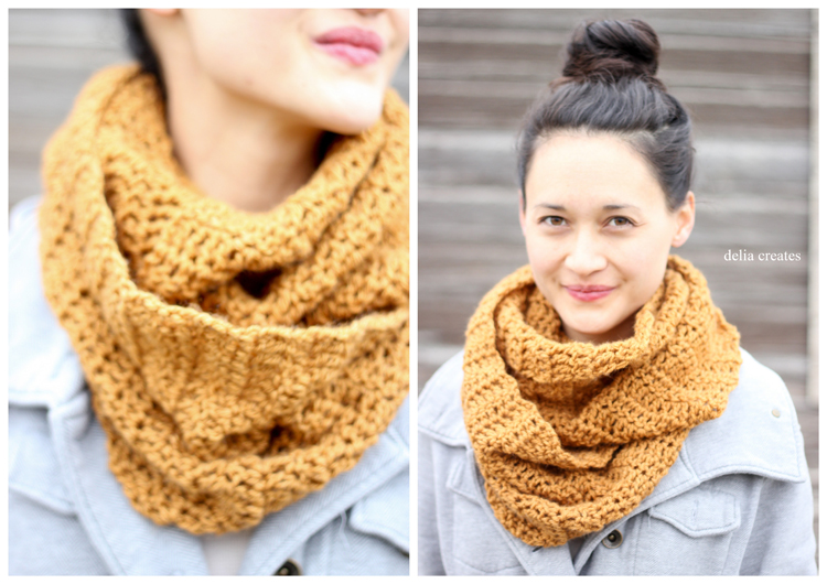 Double Crochet Infinity Scarf Free Pattern : How to Knit - 45 Free and Easy Knitting Patterns ? Cute ...
