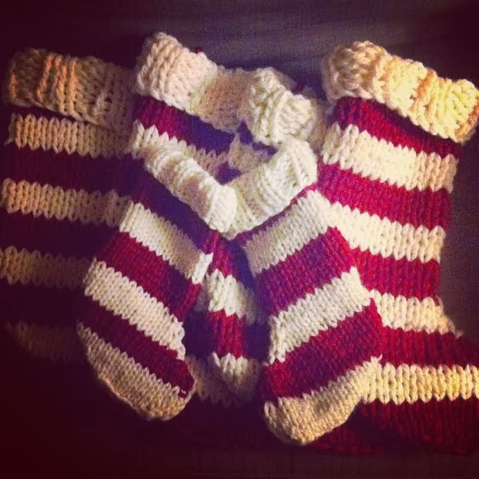 Knitting Patterns For Xmas Stockings : How to Knit - 45 Free and Easy Knitting Patterns   Page 2 of 2   Cute DIY Pro...