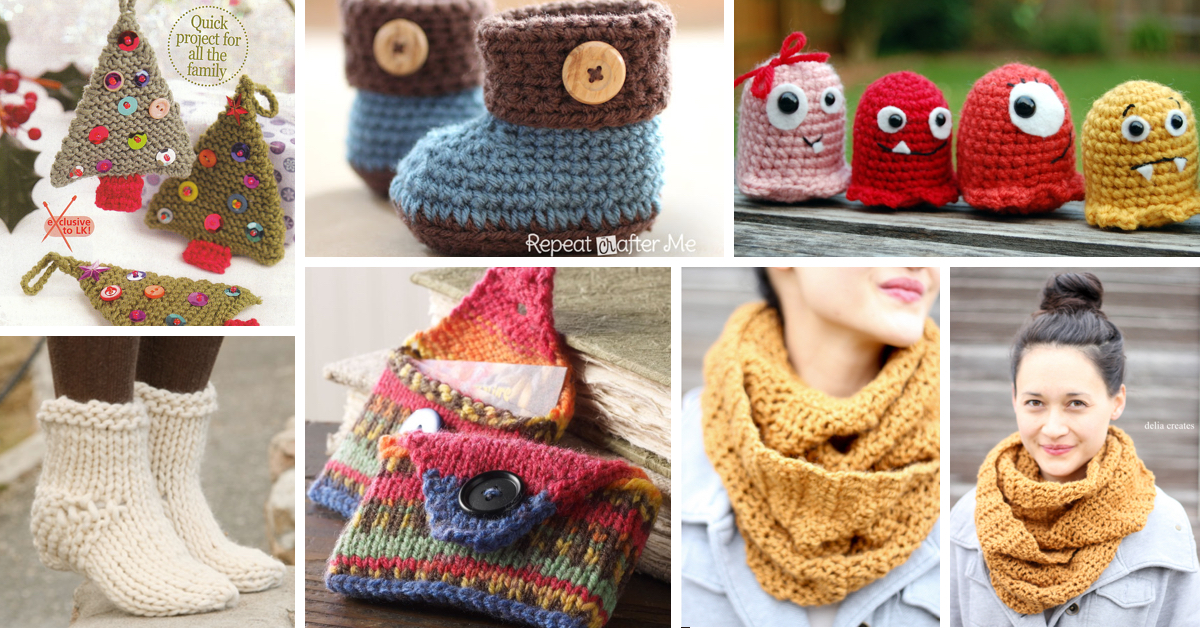 Simple Knitting Patterns Free : How to Knit - 45 Free and Easy Knitting Patterns   Cute DIY Projects