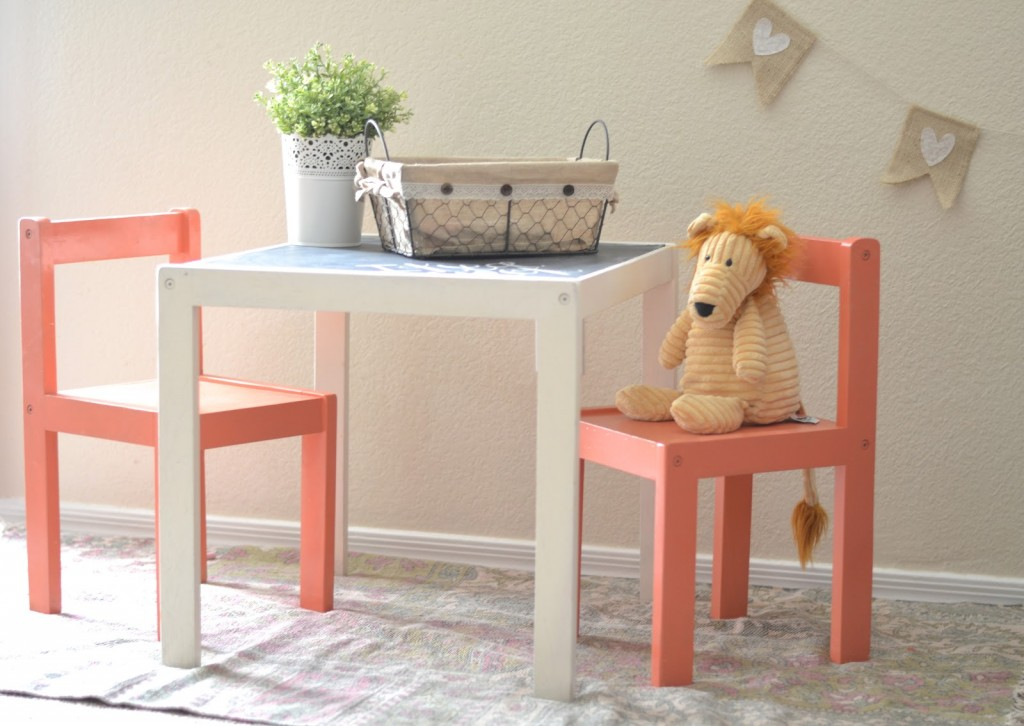 Ikea Hack: Children's Table