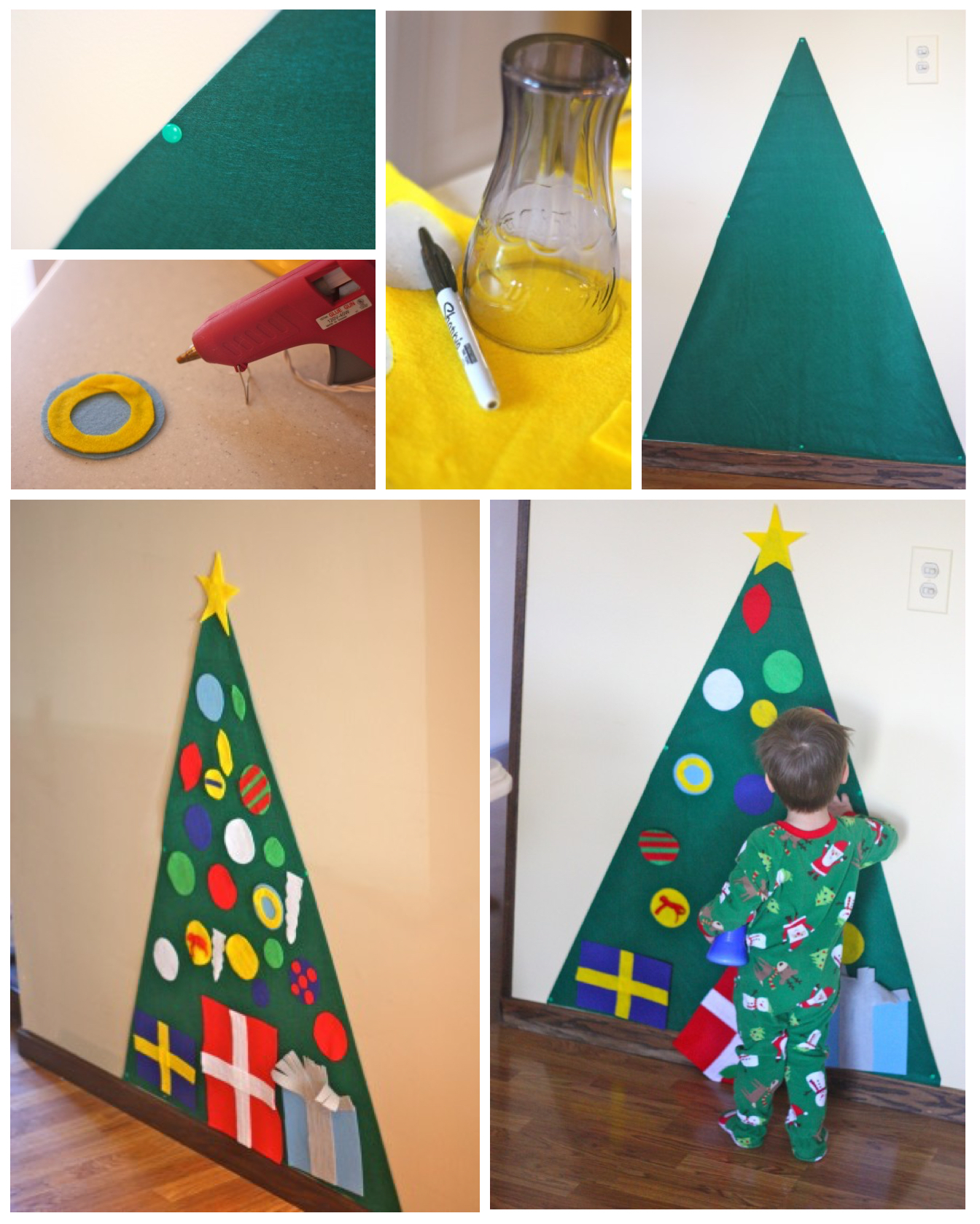 Easy Craft Christmas Ideas Part - 45: Kid-Friendly Christmas Tree