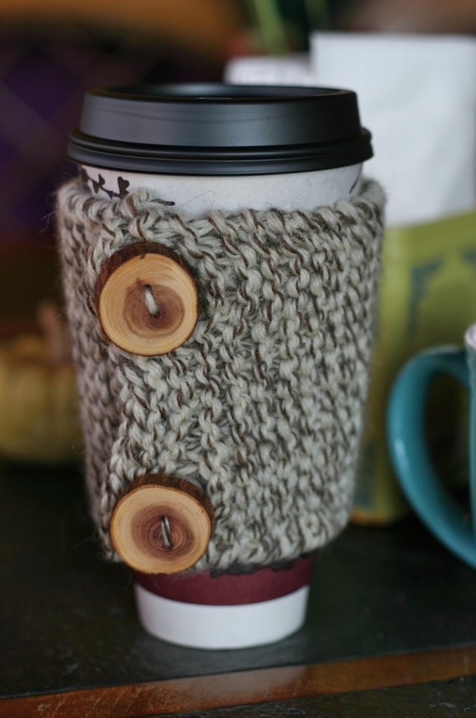 Knitting or Crochet Coffee Cozy