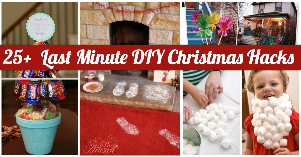 Christmas Life Hacks.25 Last Minute Diy Christmas Hacks Cute Diy Projects