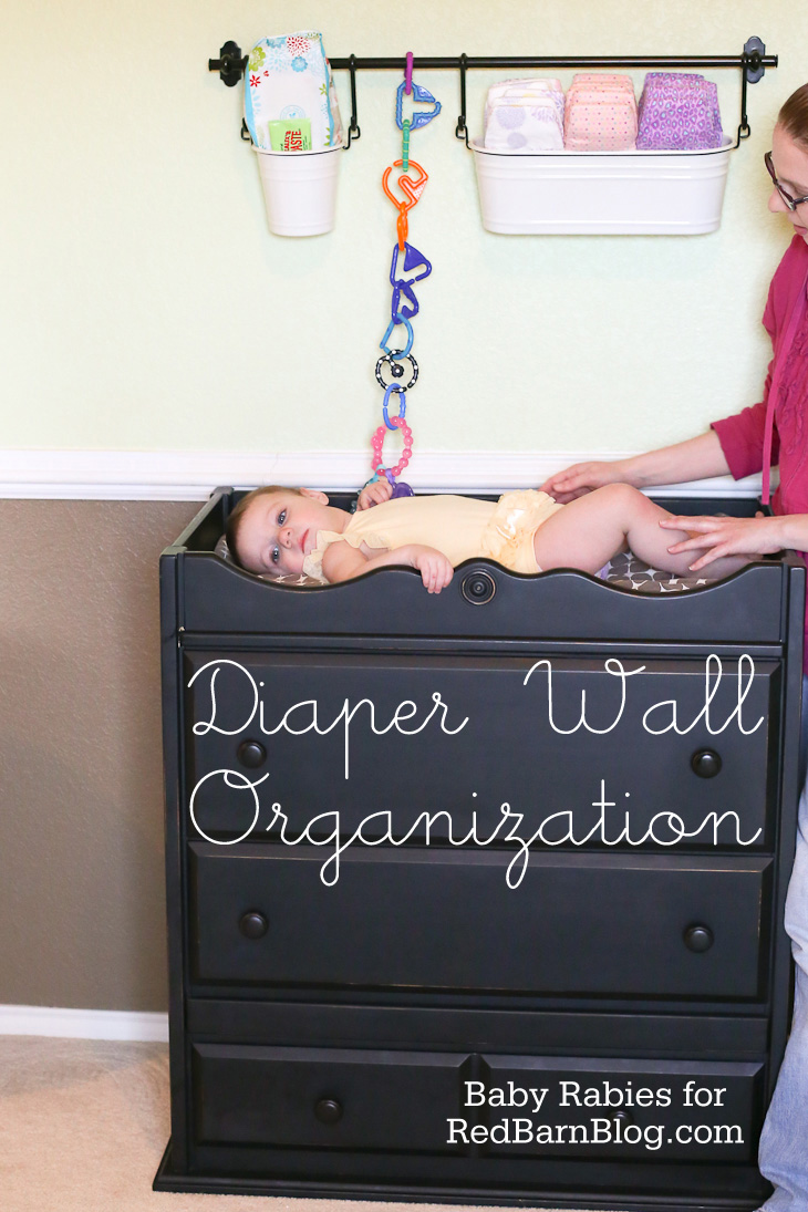 Learn How To Organize Your Baby's Diaper Wall