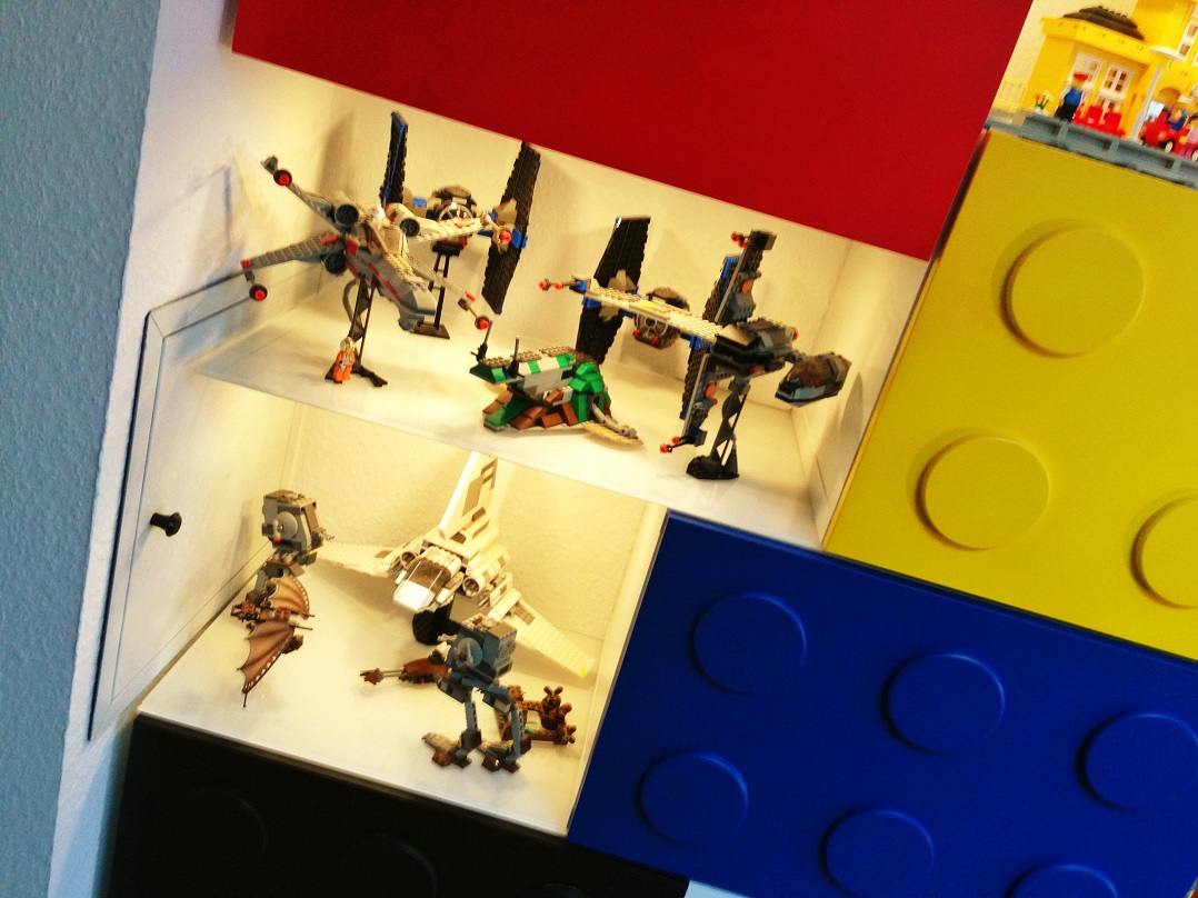 Lego-Themed Shelves