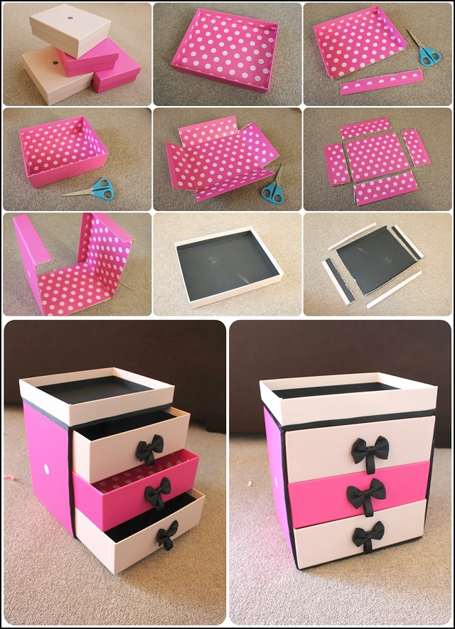 Easy paper craft projects you can make with kids cute for Useful things to make out of paper