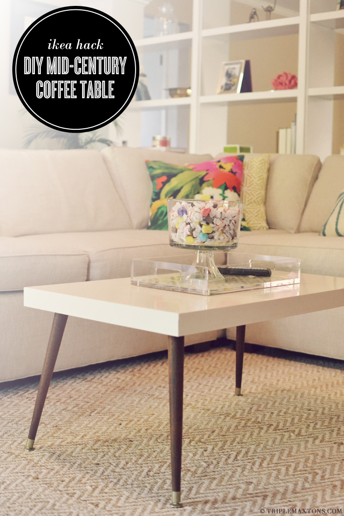 60 crafty ikea hacks to help you save time and money for Make your own coffee table