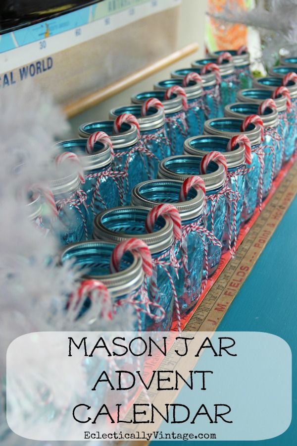 Make a Mason Jar Advent Calendar