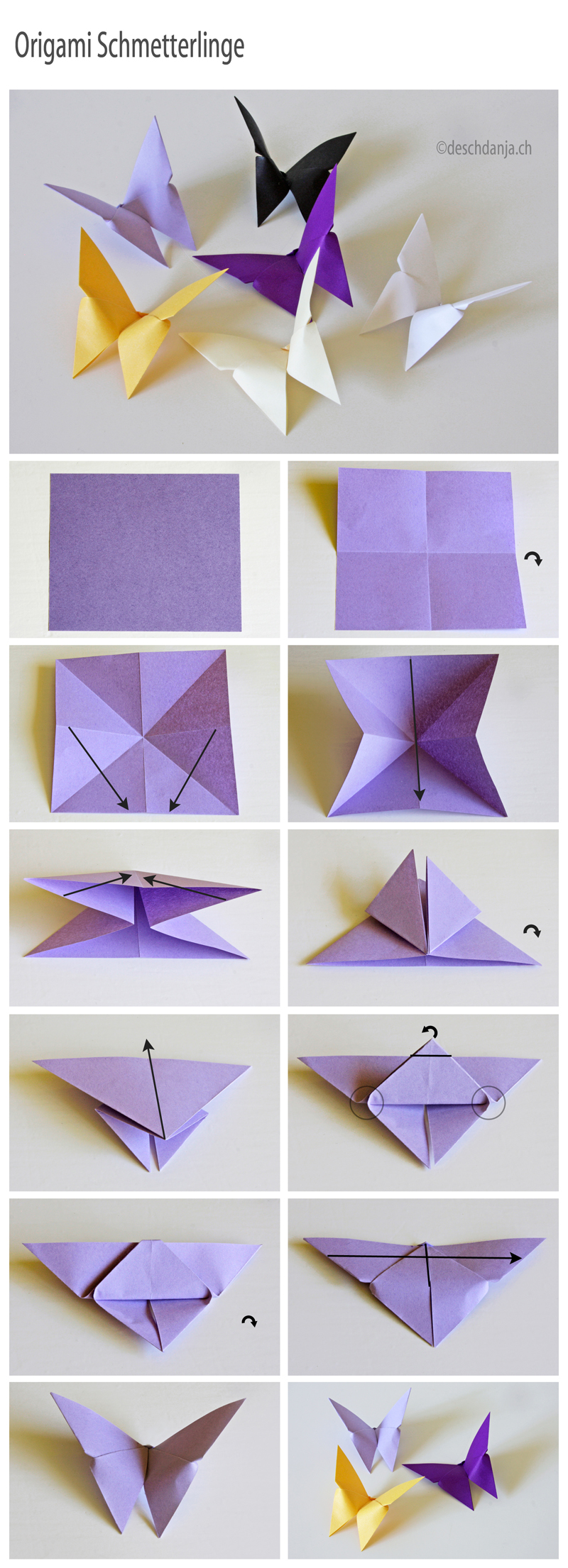 Easy Paper Craft Projects You Can Make with Kids – Cute DIY