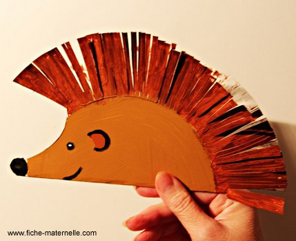 paper plate hedgehog craft easy paper craft projects you can make with page 2 5110